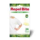 Repel Bite Natural Parches de Citronela 24 Ud - Cómoda aplicación