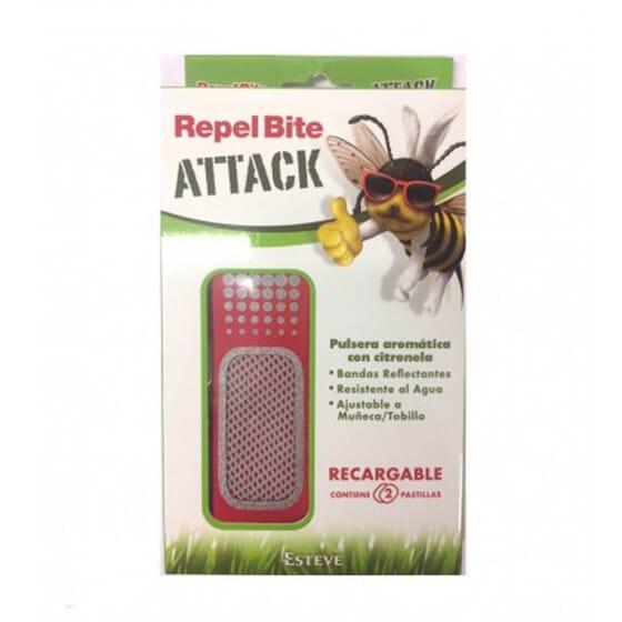 Repel Bite Attck Bracelet Rechargeable 1 Unité - À la citronnelle