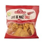 CHIPS DE MAÍZ CON CHILE BIO 75g de Natursoy