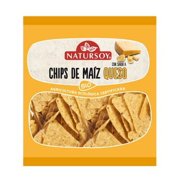 CHIPS DE MAÍZ CON QUESO BIO 75g