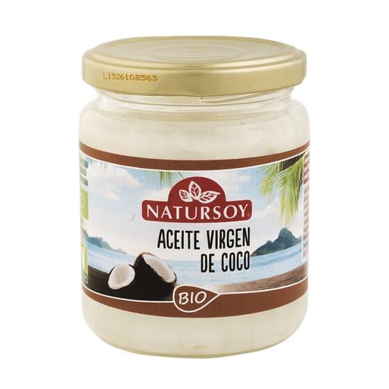 Óleo Virgem De Coco Bio 200g da Natursoy
