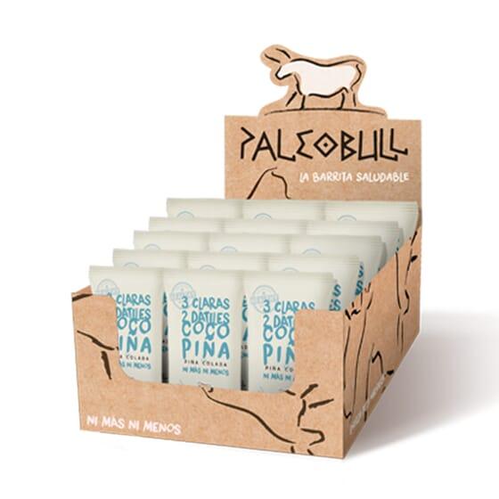 Paleobull Barre Noix de Coco et Pina Colada - 15 Barres de 55 g