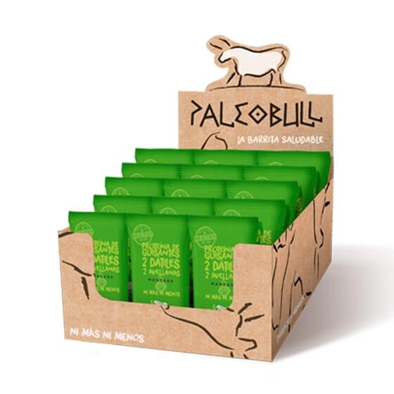 Paleobull Barre Vegan Pomme - 15 Barres de 55 g