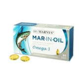 MAR-IN-OIL ÓLEO DE SALMÃO 60 Caps da Marnys