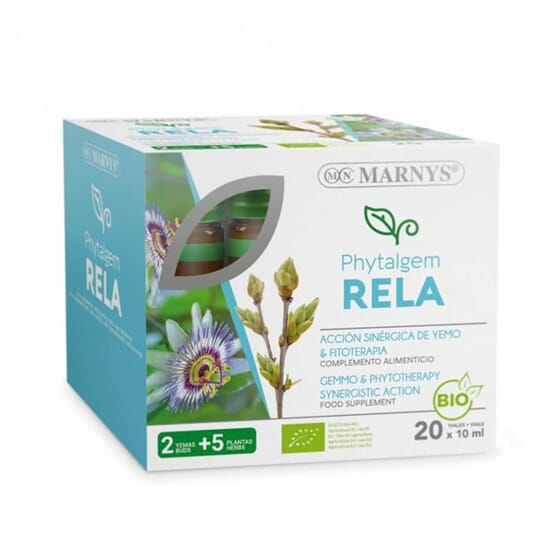 Phytalgem Rela Bio 20 Fioles - Marnys - Relaxant
