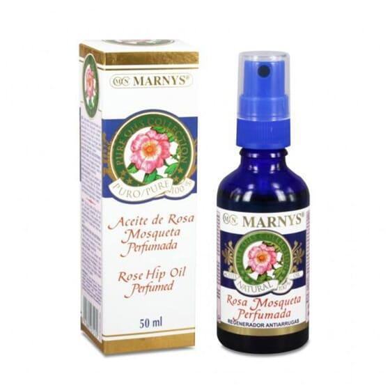 Huile de Rose Musquée Parfumées 50ml - Marnys