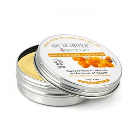 Beurre de Karité, Argousier et Calendula Bio 100 g - Marnys