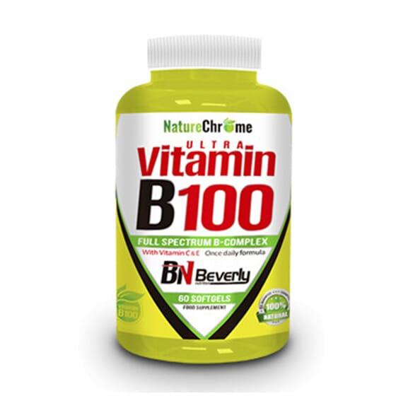 ULTRA VITAMINE B100 60 Capsules molles Beverly Nutrition
