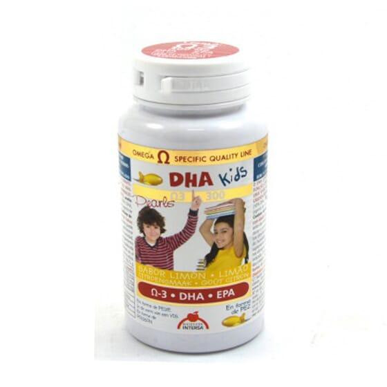 DHA Kids 90 Capsules molles - Dietéticos Intersa - Aux oméga 3 DHA et EPA