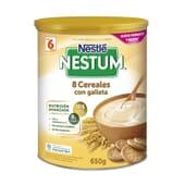 NESTUM 8 CEREAIS COM BOLACHA 650g da Nestlé Nestum