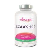 BCAA'S 2:1:1 200 Tabs de Amazin' Foods