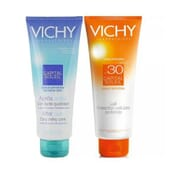 CAPITAL SOLEIL LECHE PROTECTORA SPFF30 300ml + AFTER SUN 300ml de Vichy