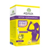 Aquilea Detox + Brûle-graisses 10 Sticks - Programme express 10 jours !