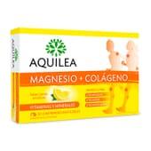 AQUILEA MAGNÉSIO + COLÁGENO 30 Comprimidos Mastigáveis