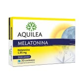 Aquilea Melatonina 1,95mg 30 Tabs - Ayuda natural para descansar