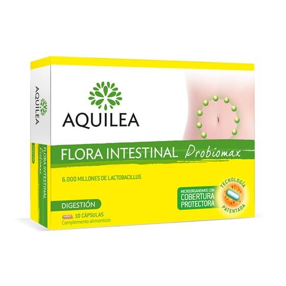 Aquilea Probiomax Flore Intestinale 10 Gélules