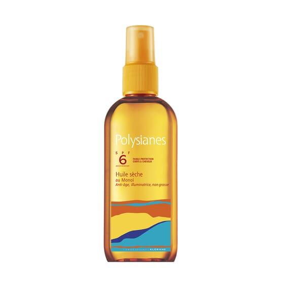 Polysianes Olio Secco al Monoï SPF6 150 ml di Polysianes