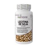 Lecitina de Soja 80 Perlas - Nutrione - Regula el colesterol