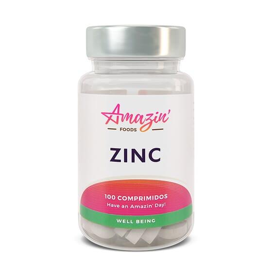 ZINCO 100 Tabs da Amazin' Foods