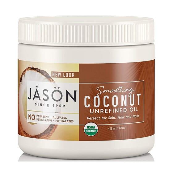 Aceite De Coco Virgen Eco 443 ml de Jason Cosmetics