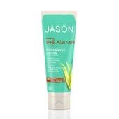JASON LOCIÓN MANOS Y CUERPO ALOE VERA 84% 227g de Jason Cosmetics