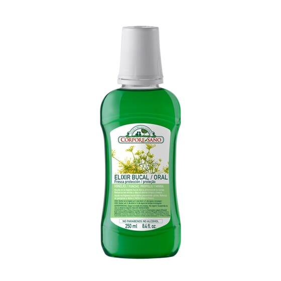 Élixir Buccal Protection Fraîche 250 ml - Corpore Sano