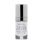 Apivita 5-Action Eye Serum Contorno de Ojos con Lirio Blanco 15ml