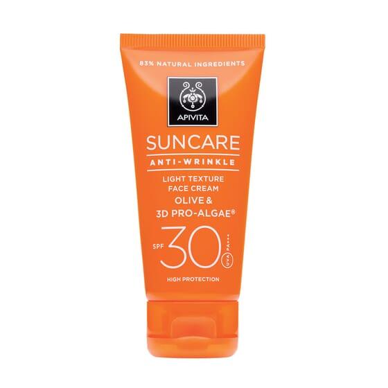 Crema Solare Viso Antirughe SPF 30 50 ml de Apivita