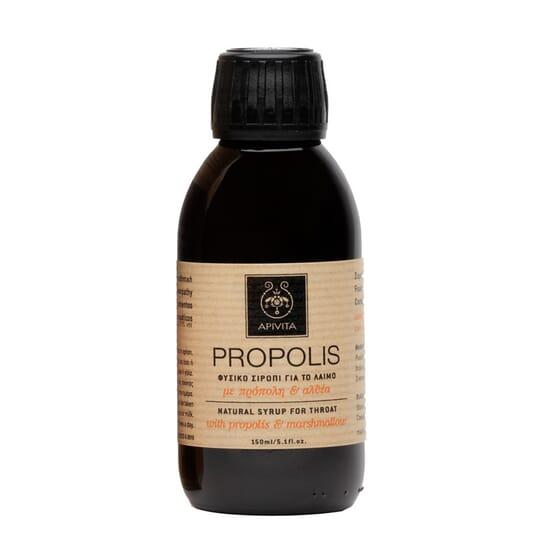 Propoli Sciroppo Biologico per la Gola 150 ml de Apivita