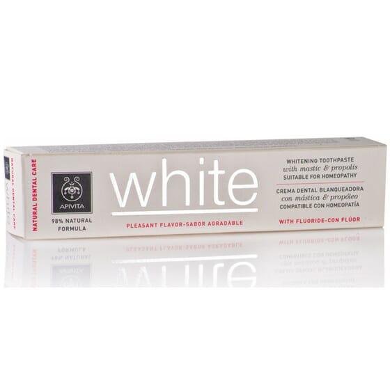 Natural Dental Care Dentifricio Sbiancante 75 ml de Apivita
