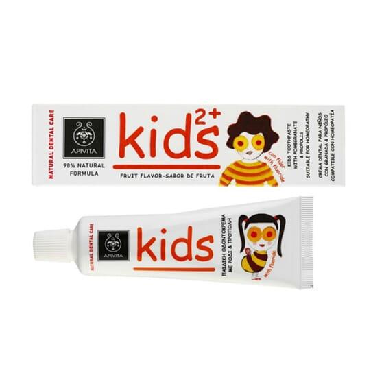 Natural Dental Care Dentifricio Kids 2+ 50 ml de Apivita