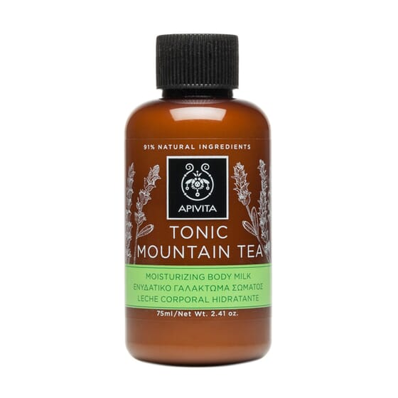 Mini Body Milk Tonic Tè Di Montagna 75 ml di Apivita