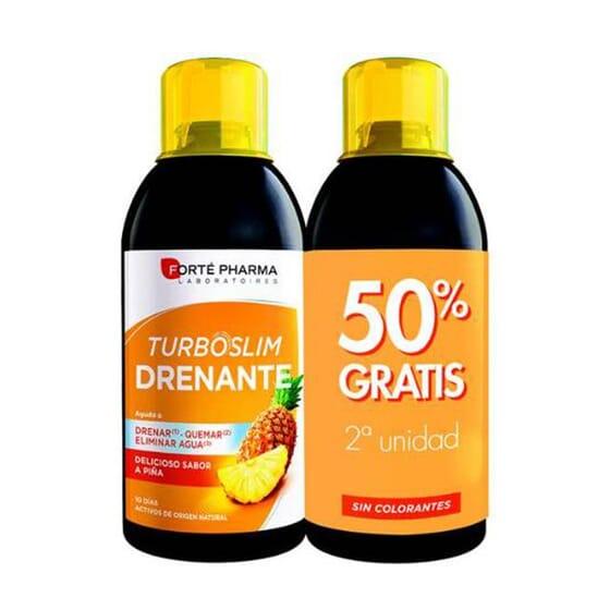 Turboslim Draineur (50 % sur la 2e unité) 2x500 ml - Forté Pharma