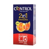 Control Finissimo 2 in 1 Preservativo + Gel - ¡Pack para el placer!