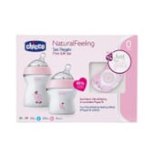 Set Regalo Natural Feeling Rosa 0M+ 1 Confezione di Chicco