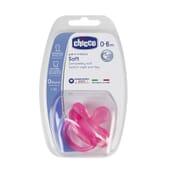Chupeta Physio Soft Silicone 0-6M Rosa 1 Ud da Chicco