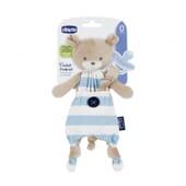 Chicco Guarda Chupete Pocket Friend Azul 1 Ud - ¡Suave y tierno!