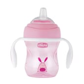Chicco Tasse Transition 4M+ Rose 200 ml - Antidérapante