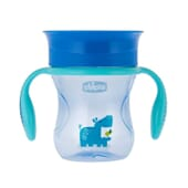Copo Perfect 360 Azul 12M+ 200 ml da Chicco