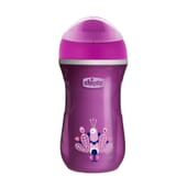 Copo Termo Active Cup 14+ Rosa 266 ml da Chicco