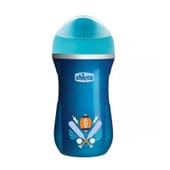 Copo Termo Active Cup 14+ Azul 266 ml da Chicco