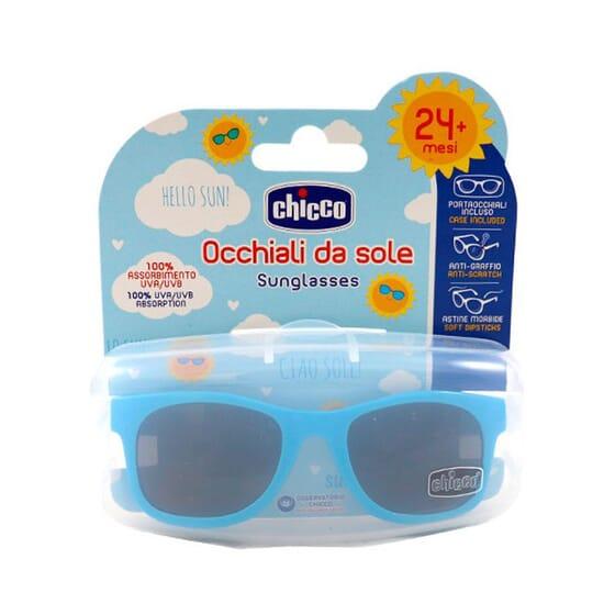 Chicco Lunettes de Soleil 24M+ Bleu - Anti rayures!