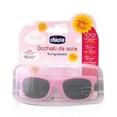 Chicco Lunettes de Soleil 24M+ Rose 1 Unité - Inclut un étui à lunettes !