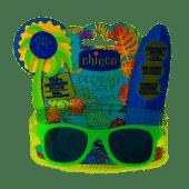 Chicco Lunettes de Soleil 24M+ Vertes - Anti rayures!