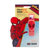 CITROBAND ISDIN KIDS UV TESTER PULSERA ANTIMOSQUITOS SPIDERMAN 1 Ud