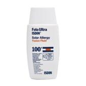 FOTO ULTRA ISDIN SOLAR ALLERGY FUSION FLUID SPF100+ 50 ml
