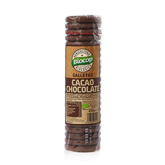 GALLETAS CACAO CHIPS DE CHOCOLATE 250g de Biocop