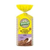 Tortitas de Arroz, Maíz y Lino 200g - Biocop
