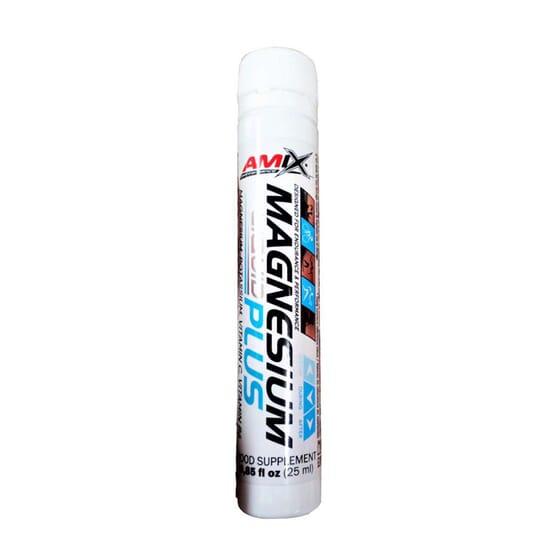 Magnesium Liquid Plus 20 x 25 ml de Amix Performance