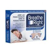 BREATHE RIGHT BANDELETTES NASALES CLASSIQUES TAILLE GRANDE 10 Unités